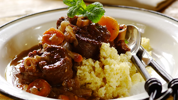 Fragrant Lamb and Apricot Stew